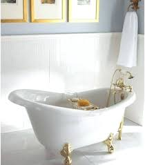 bathtubs for small spaces deep soaking tubs tub a lullaby mini petite freestanding deep