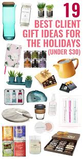 19 best client gift ideas for the holidays under 30 gifts