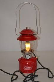 lighting a coleman lantern vintage coleman lantern electric night light steunk light