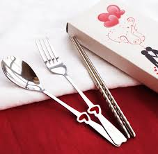 useful wedding favors aliexpress buy free shipping heart shaped stainless cutlery