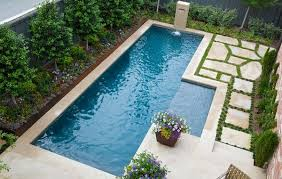 Spruce Up Your Small Backyard With A Swimming Pool   Design - Backyard lap pool designs