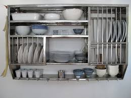 open shelving kitchen cabinets wooden plate racks for kitchen cabinets with metal shelving units