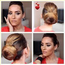 simulateur coupe de cheveux femme tuto coiffure le chignon bun pour une sortie travailler
