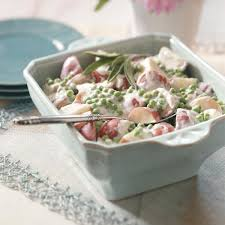 Creamed Pearl Onions Thanksgiving Creamed Garden Potatoes And Peas Recipe Taste Of Home