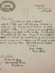 world war i letters chance encounter breathes life into brisbane