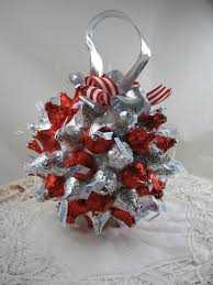 chocolate kiss ball made with smoothfoam cool holiday