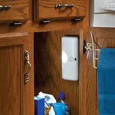 Closet Light Turns On When Door Opens Led Light Source Comes On Instantly When You Open The Cabinet Or