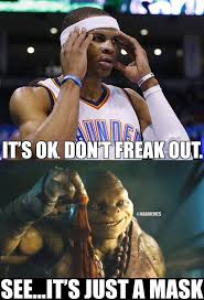 Westbrook Meme - pin by lydia ruth sunderraj on nba humor pinterest nba memes