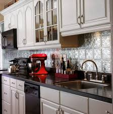 interior tin tile backsplash how to install a tin tile backsplash