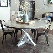 round country dining table round farmhouse dining table set sumr info