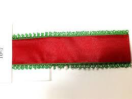 taffeta ribbon n1067 38mm x 25yards green loop edges wired taffeta ribbon