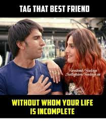Friends Memes Facebook - tag that best friend facebook teelinas without whom your life is