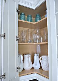 tips for designing an organized kitchen upper corner cabinets for a organized kitchen