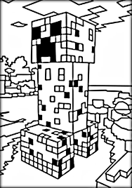 cool minecraft coloring pages steve coloring