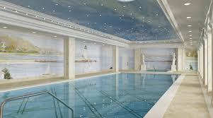 indoor swimming pool with extraordinary design ideas luxury