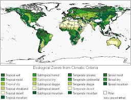 global zone map global spatial layers for estimating soil ghg emissions from