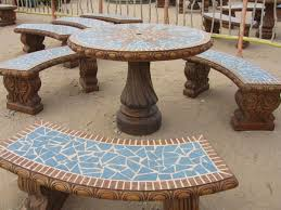 cement table and bench aleman creaciones homepage