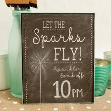 Wedding Signs Template Make These Adorable Wedding Sparkler Tags Sign For Free