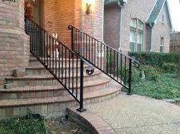 Stairway Banister Handrail Installation Iron Handrail Metal Handrail Stairway Railing