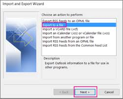 export contacts from outlook office support
