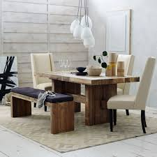 Reclaimed Wood Dining Room Tables Reclaimed Wood Dining Bench Wb Designs