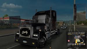 volvo 18 wheeler ets 2 freightliner coronado truck mod test multi clip media