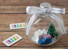 christmas ornament favors diy christmas tree ornaments of diycandy