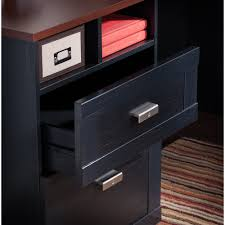 Bush Computer Desk With Hutch by Bush Furniture Wheaton Reversible Corner Desk Walmart Com
