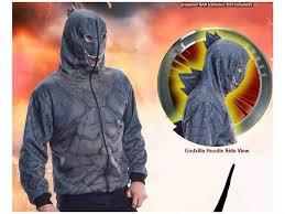 godzilla costume men s godzilla costume hoodie