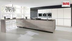 alno cuisine alno inox kitchen in metallic gold alno s steel kitchen line