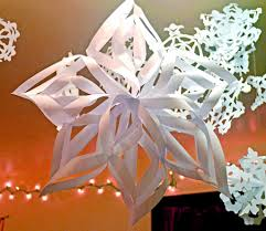 decor amazing large paper snowflake decorations home design