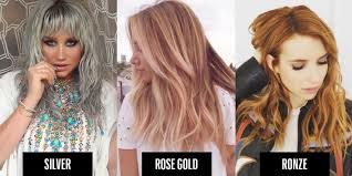metal hair heavy metal hair trend 2016 metallic hair colors to try