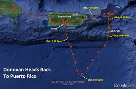 Puerto Rico Google Map by Project Ospreytrack Donovan Map Squam Lakes Natural Science Center