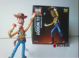Revoltech Woody Meme - boneco woody toy story revoltech de flango review unboxing