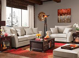 Raymour And Flanigan Area Rugs Briarwood Contemporary Microfiber Living Room Collection Design