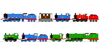 tv thomas friends thebluee53 deviantart