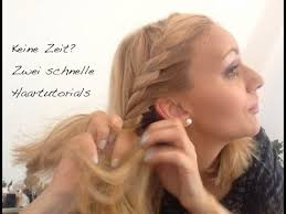 Schnelle Frisuren F Lange Haare Mit Pony by Tutorial Zwei Schnelle Frisuren Mit Und Ohne Haarband