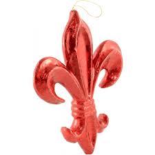 10 fleur de lis ornament leaf mz161024 craftoutlet