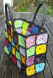 Outdoor Rugs Made From Recycled Plastic by How To Make Plarn Plastic Yarn Tutorial Tutorials Crochet And