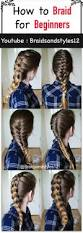 Easy On The Go Hairstyles by Best 25 Easy Braided Hairstyles Ideas On Pinterest Hair Styles
