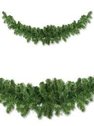 thin balsam pine swag garland 2 1m garlands wreaths tinsel