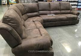 costco fabric reclining sofa best home furniture decoration