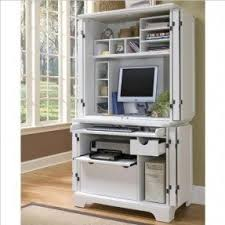 Computer Hutch Desks With Doors Computer Armoires Hutches Foter