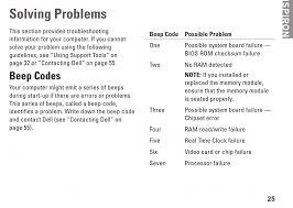 Dell Diagnostic Lights Dell Inspiron 560 Error Beeps Windows 7 Help Forums