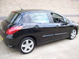 black peugeot for sale used peugeot 308 2008 model 1 6 vti sport 5dr petrol hatchback black