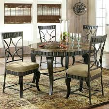 dining table round dining table 5 chairs steve silver hamlyn 5