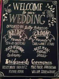 Wedding Program Chalkboard Chalkboard Wedding Program Poster By Reaganista Designs On Etsy