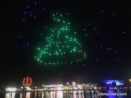 disney drone light show christmas in the sky drone light show at disney springs bardell