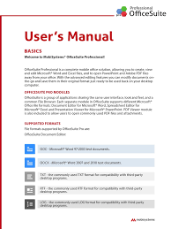 officesuite pro usermanual ios i cloud microsoft excel