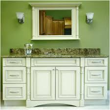 Discount Bathroom Cabinets Diy Table Sink With A Decor That Has Four Outboard Lights And Two